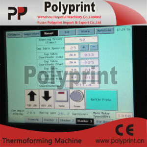 Automatic Plastic Cup Thermoforming Machine pictures & photos