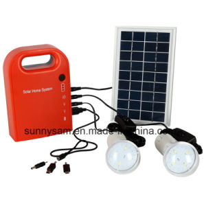 Home Portable Solar LED Lighting System for Outdoor Camping pictures & photos