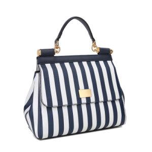 Big Striped Handbag 2070-7