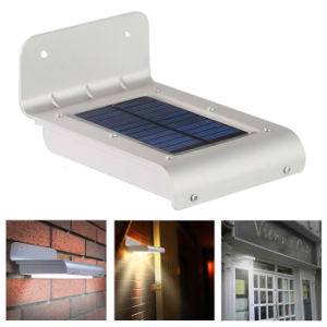 16 LED Solar Light Outdoor Garden Light Waterproof Infrared Motion Sensor Wall Lamps Path Lights pictures & photos