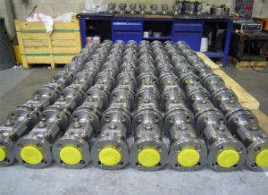 3PC Forged Floating Ball Valve pictures & photos
