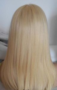 Blonde Indian Remy Human Hair Full Lace Wig pictures & photos