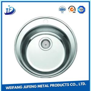 OEM Mould Pressed Zinc Plating Stamping Stainless Steel Kitchen Basin Sink pictures & photos