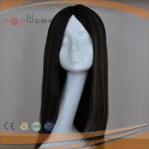 Black Human Virgin Hair Hand Tied Lace Women Wig pictures & photos