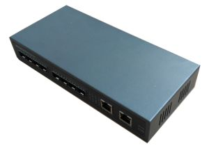8 Giga Fiber Ports SFP and 2 Giga RJ45 Uplink Network Fiber Switch Full Gigabit (TS0802G) pictures & photos