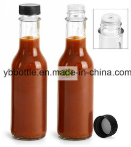 Pepper Paste Bottle. Glass Bottle for Paste