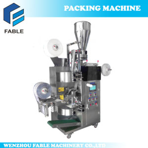 Fully Automatic Outer and Inner Tea Bag with Thread and Tag Packing Machine Manufacturer Machine (FA-TEA15) pictures & photos