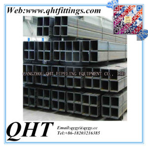 Low Carbon Steel Gi Square and Rectangular Tubes pictures & photos