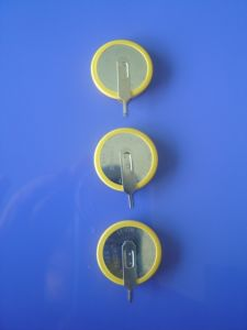 3.6V Lithium Rechargeable Button Cell Lir2466 pictures & photos