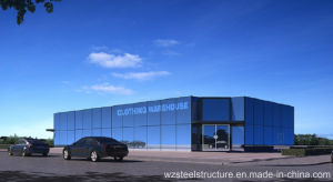 Wz-A001prefab Large Span Steel Structure for Warehouse