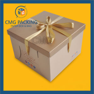 Kraft High Quality Packing Cake Box (CMG-cake box-001) pictures & photos