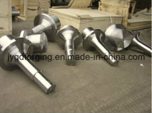 Hydraulic AISI4140 Alloy Steel Mill Roller Shaft pictures & photos