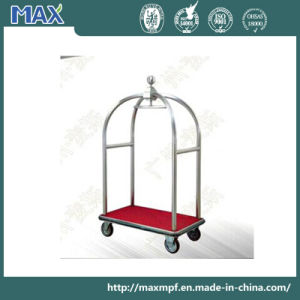Stainless Steel Hotel Baggage Trolley pictures & photos