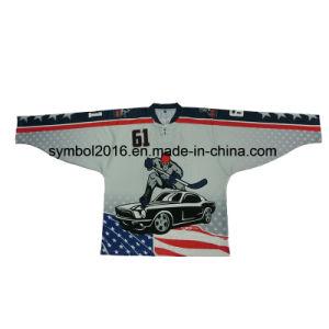 Ice Hockey Jerseys with Full Sublimated Custom Pattern