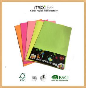 A4 Fluorescent Color Paper 75g Color Copy Paper
