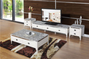 TV Stand with 3 Drawer for Living Room Furniture pictures & photos
