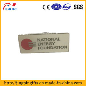 2D Zinc Alloy Custom Soft Enamel Metal Badge with Pin pictures & photos