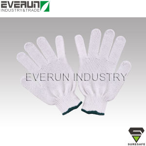 Cheap Working Gloves White Disposable Cotton Gloves pictures & photos