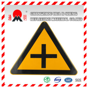 Pet/PVC Photo Luminescent Reflective Film for Warning Road Signs (FG301) pictures & photos