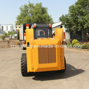 Wheel Skid Steel Loader with 700kg Rated Load pictures & photos