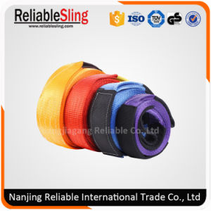 75mm 8000kg Durable Polyester 4WD Vehicle Safe Recovery Towing Strap pictures & photos