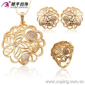 Free Sample 2016 Secret Garden 18k Gold Jewelry Set (63144) pictures & photos