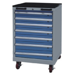 Westco Mobile Cabinet with Drawers (Workshop Trolley, Rolling Cabinet, MDC-1050-7)