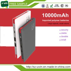 10000mAh Imported Polymer Batteries Power Bank Charger pictures & photos