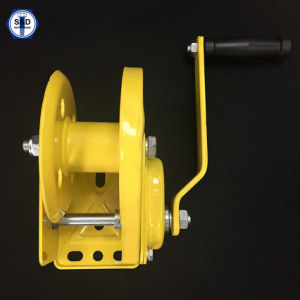Boat Trailer Winch Hand Winch 1800lbs Powder Coating