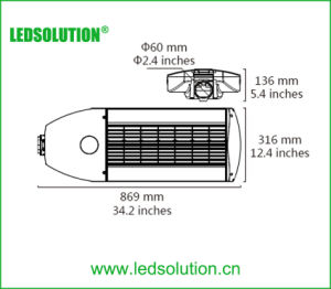 230W LED Street Lighting, IP66 High Power Road Light pictures & photos