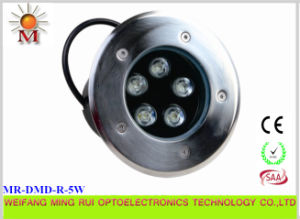 5W Multi Color LED Underground Light pictures & photos