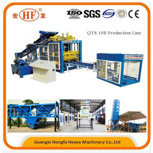 Fully Automatic Concrete Block Forming Machine Block Making Machine pictures & photos