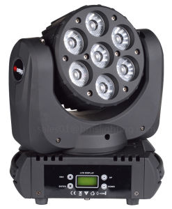 7*12W RGBW LED Beam Moving Head Light pictures & photos