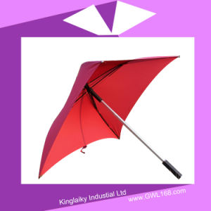 New Design Square Shaped Umbrella with Logo Branding P016-011 pictures & photos