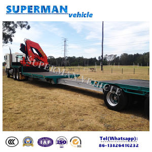 Special Flatbed Truck Container Trailer for Salse pictures & photos