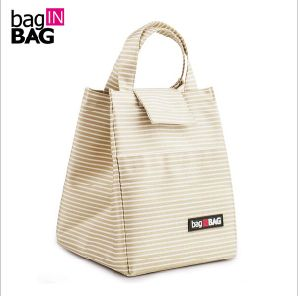 Women Casual Pack Lunch Bags Insulation Bags Pack Ice Bag Rice Portable Canvas Board Box Portable Lunch Handbag pictures & photos