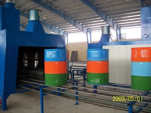 Steel Drum Painting Machine / Steel Barrel Painting Drying Line pictures & photos