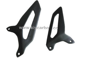 Carbon Fiber Motorcycle Parts Heel Guards for Ducati Panigale pictures & photos