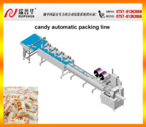 Candy Type Automatic Feeding Packing Line pictures & photos
