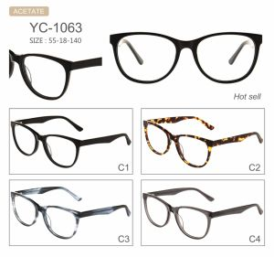 in Stock High Quality Fashion New Style Factory Sell Acetate Optical Frames pictures & photos