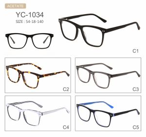 Stock Fashion Hot Selling New Design Acetate Eyeglasses Optical Frames pictures & photos