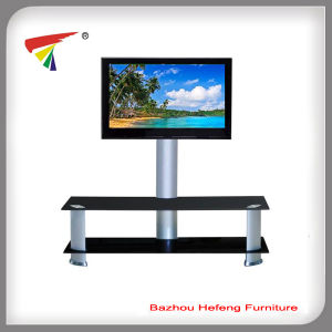 2015 Hot Sale LCD Glass TV Stand (TV065) pictures & photos