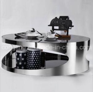 2016 New Design Elegant Shape Metal Coffee Table