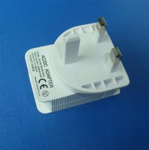 White UK Plug Power Adapter AC/DC 5V 2A USB Charger pictures & photos