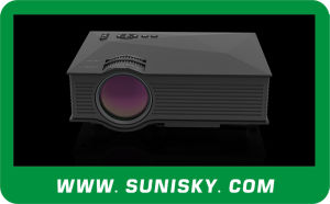 New High Brightness LCD Projectors with WiFi LED Projector for Business Meeting (SMP46) pictures & photos