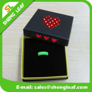 Personalized Fashion Advertising Colorful Silicone Finger Rings (SLF-SR008) pictures & photos