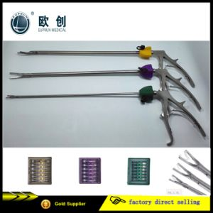 Surgical Laparoscopic ABS Plastic Polymer Ligation Clip Clamp Applier Applicator Hem-O-Lok pictures & photos