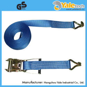 TUV GS Certified Ratchet Tie Down Lashing Strap to En12195-2 pictures & photos