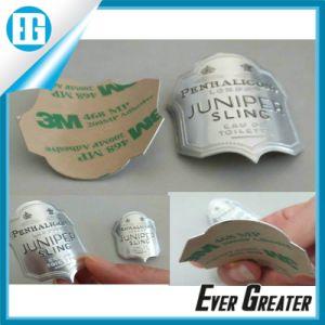 Aluminum Metal Badge with 3m Glue pictures & photos
