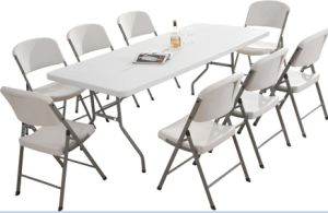 High Quality Plastic Folding Table for Outdoor Event pictures & photos